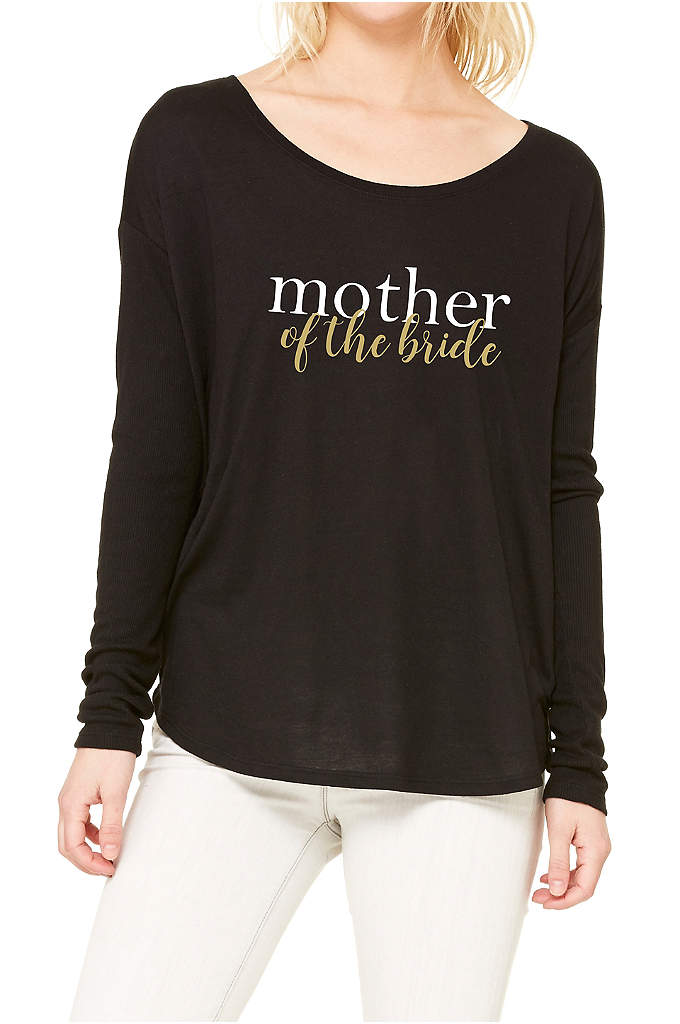Mother of the Bride Calligraphy Shirt - This Mother of the Bride long sleeve shirt