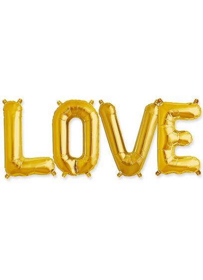 Love 16 Inch Balloon Kit - Wedding Gifts & Decorations