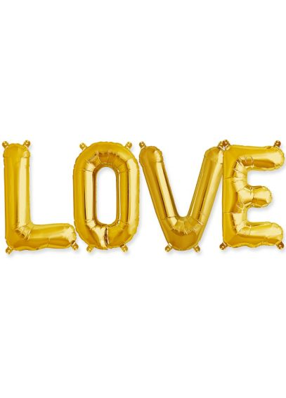 Love 16 Inch Balloon Kit LoveBalloons