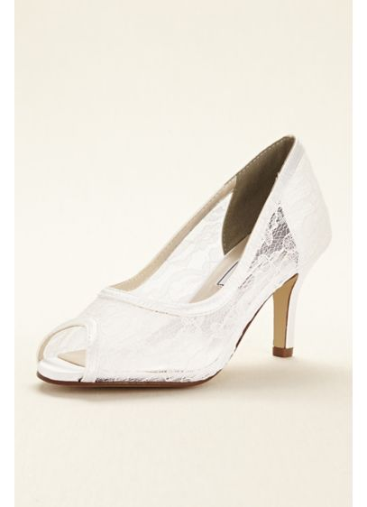 Touch Ups (Dyeable Lace Satin Pump by Touch Ups)