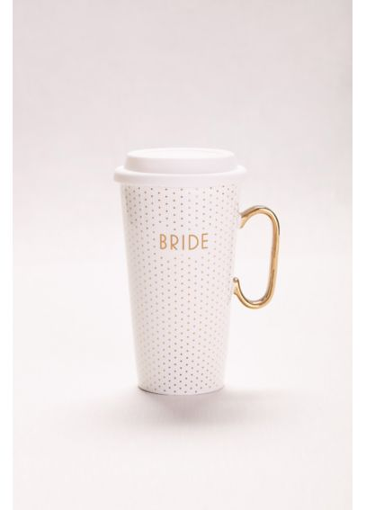 Polka Dot Bride Travel Mug M10386T66712