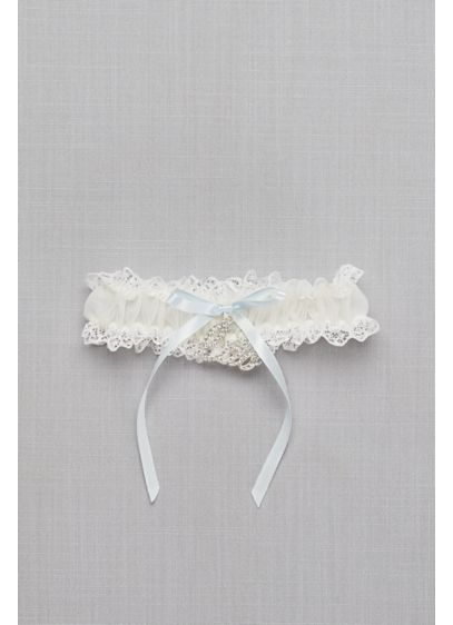 I Do Charm Garter - Wedding Accessories