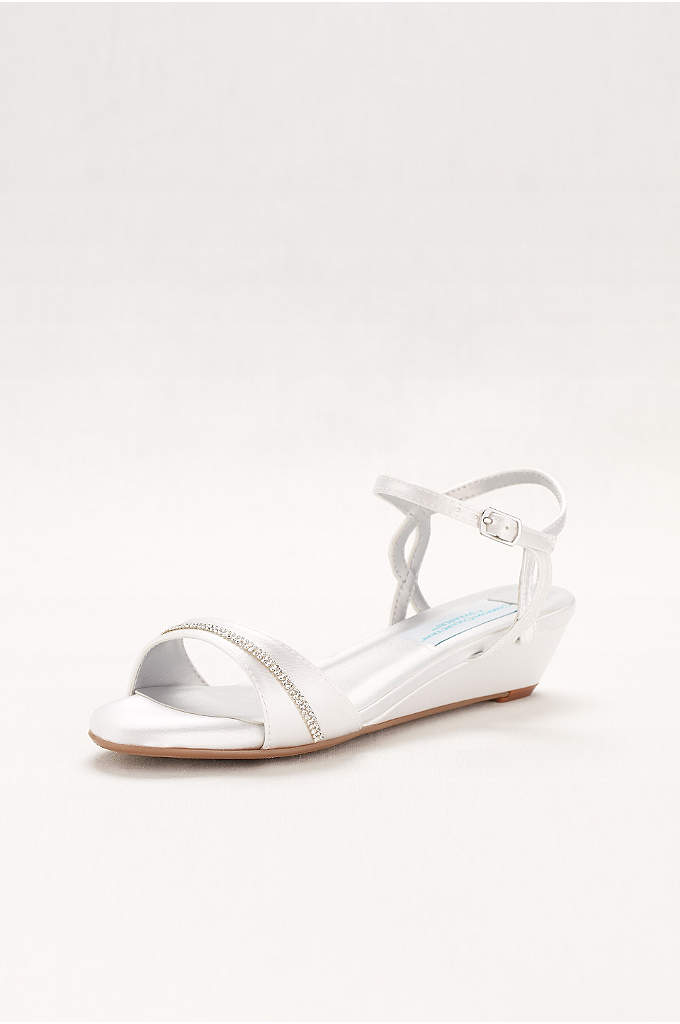 Touch Ups Mallory Dyeable Wedge Comfort Sandal - Mallory is part of the Comfort Collection that