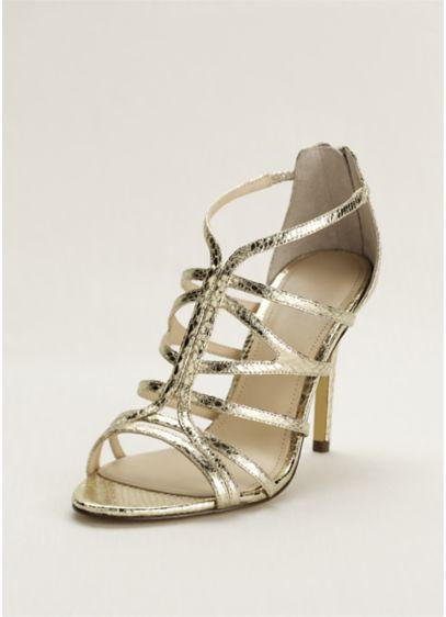 Grey Soft & Flowy Touch of Nina Bridesmaid Dress