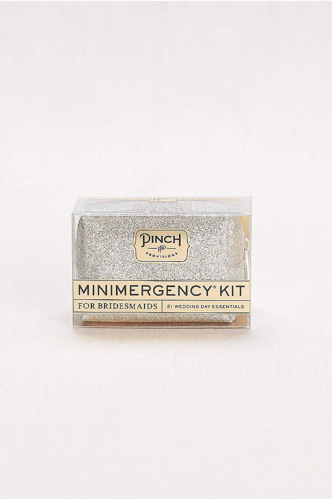 Minimergency Kit for Bridesmaids - Be prepared no matter what the big day