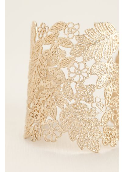Golden Filigree Cuff - Wedding Accessories