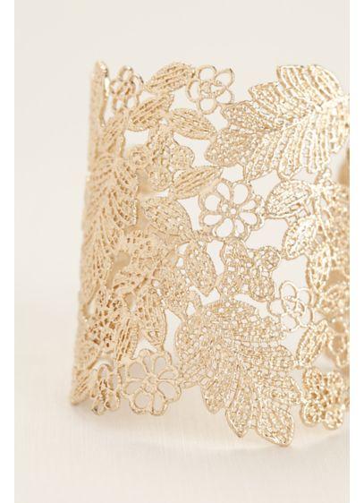 Golden Filigree Cuff - Wedding Accessories