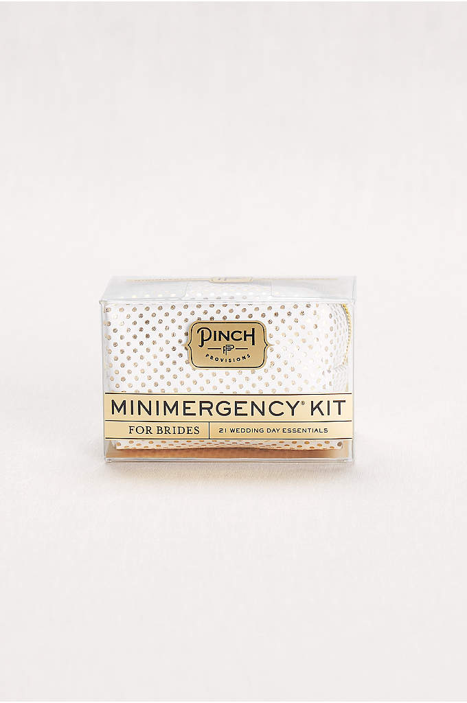 Minimergency Kit for Brides - Be prepared no matter what the big day