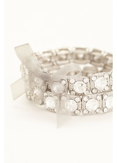Set of 2 Crystal Bracelets MBR4941