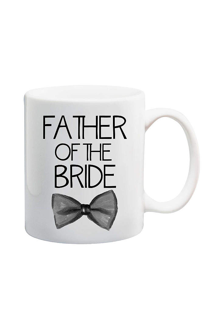 Father of the Bride Bowtie Mug - The Father of the Bride is sure to