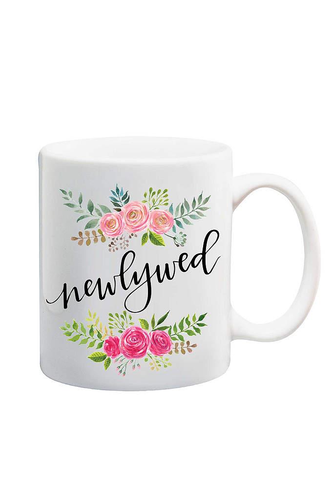 Floral Newlywed Mug - Gift this Newlywed Mug to the new Mrs.