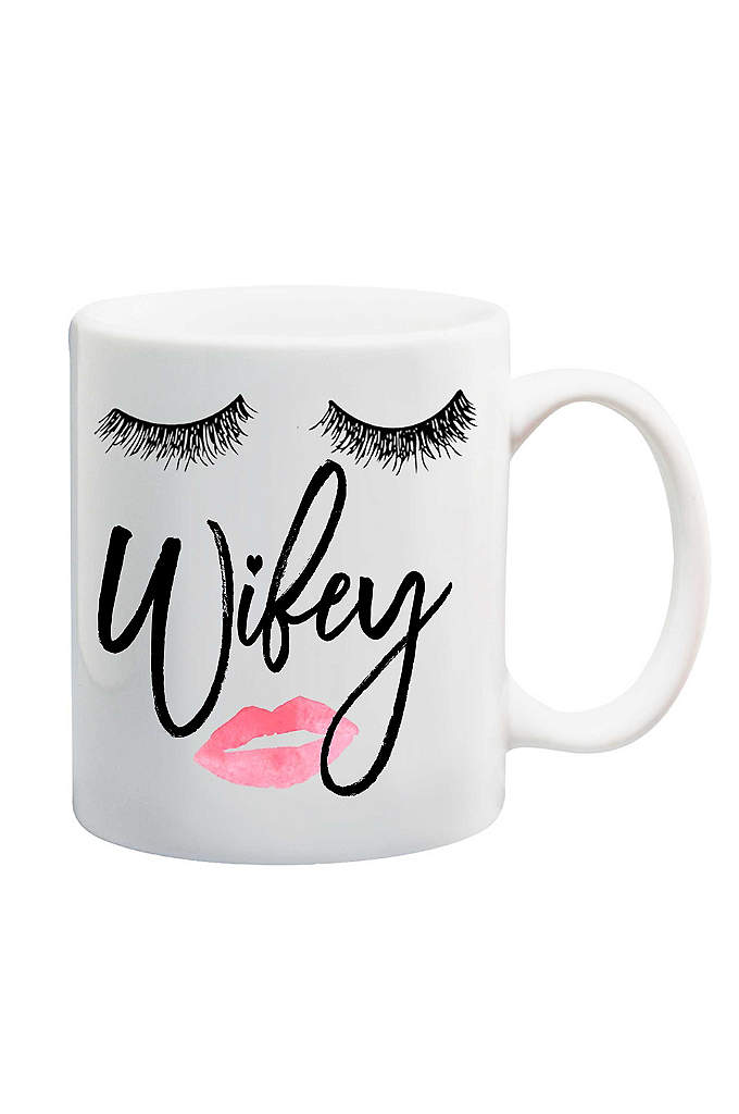 Wifey Mug - A cute addition to any Newlyweds' home, this