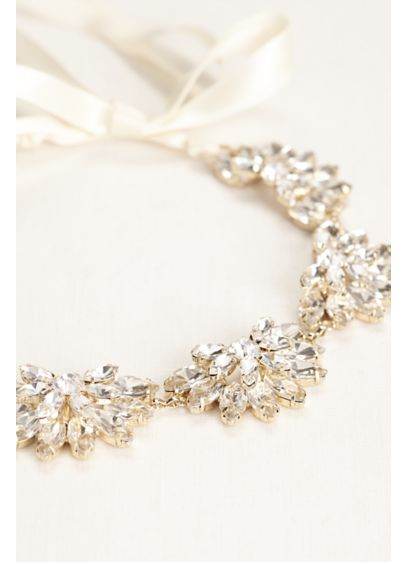 Marquise Cut Stone Headwrap - Wedding Accessories