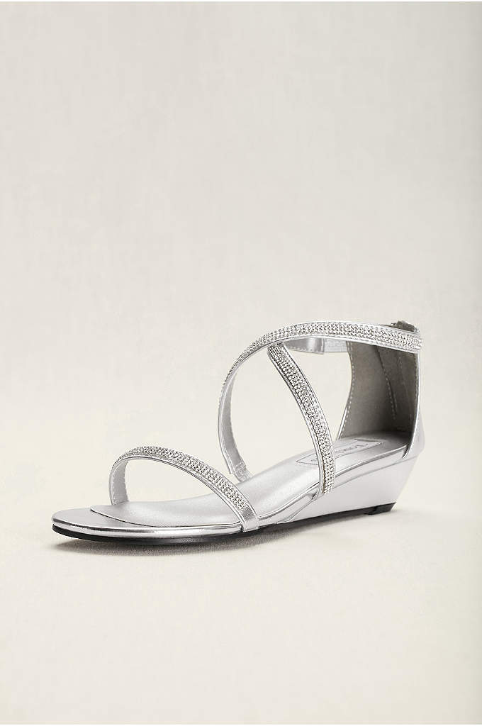 Touch Ups Moriah Strappy Wedge Sandal - Moriah from Touch Ups is a fun strappy