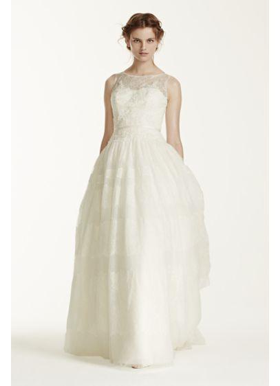 Long Ballgown Romantic Wedding Dress - Melissa Sweet