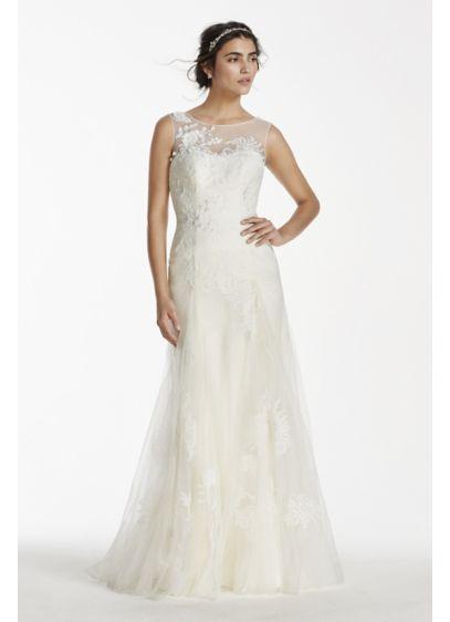 Long A-Line Romantic Wedding Dress - Melissa Sweet