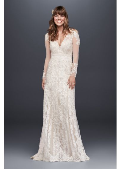 melissa sweet linear lace wedding dress davids bridal With melissa sweet linear lace wedding dress