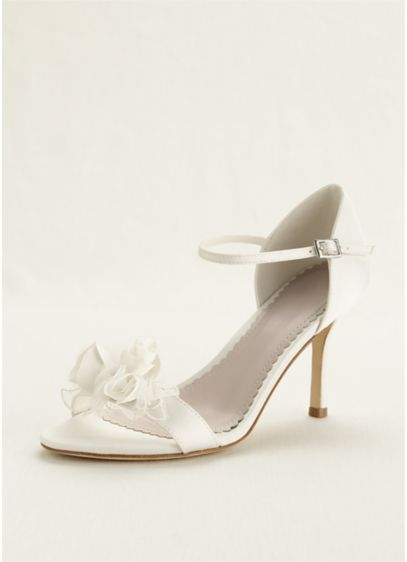 Melissa Sweet Ivory (3D Floral Two Piece Sandal)