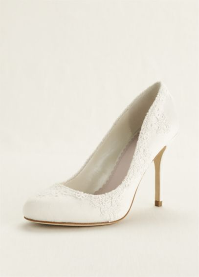 Round Toe Lace Pump MS650007
