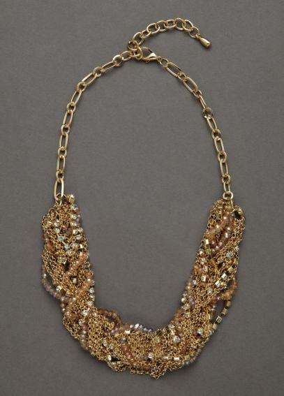 Multi Woven Chain Necklace N1708441