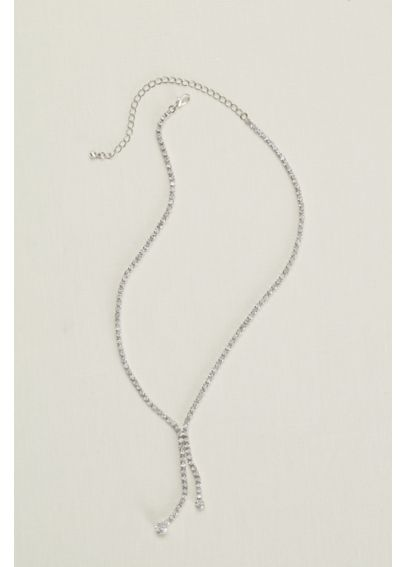Crystal Lariat Necklace N2212591