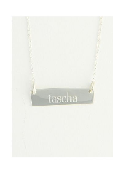 Personalized Bar Necklace N531