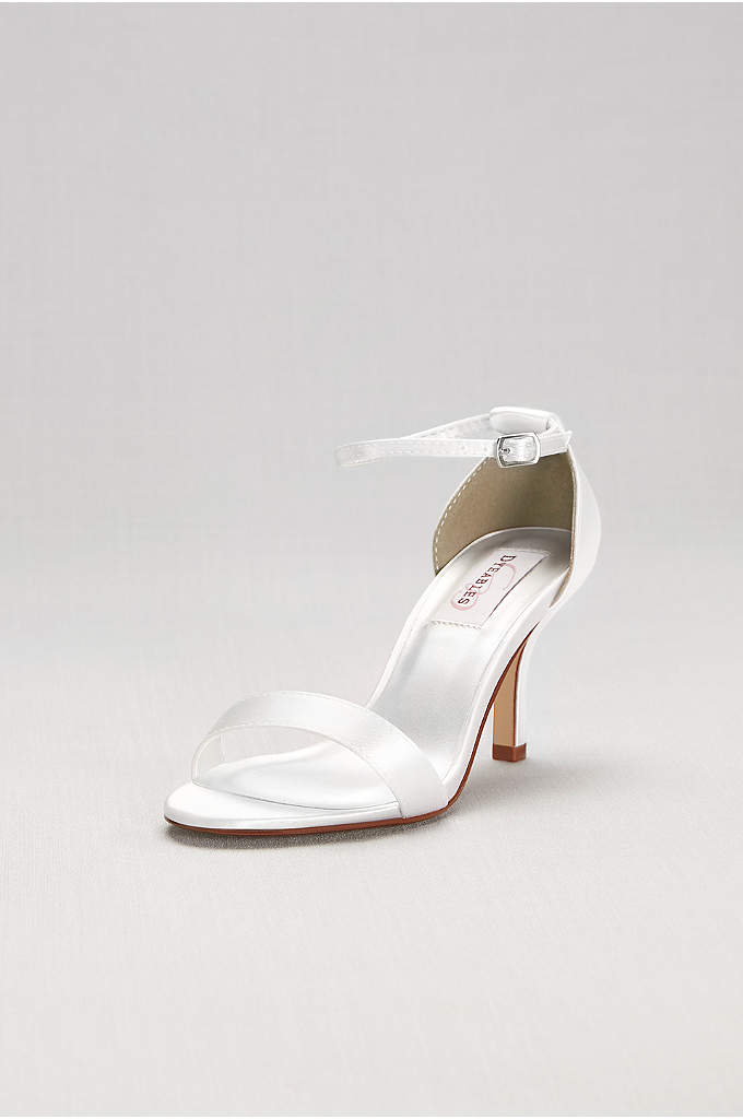 Dyeable Single Strap Sandal - Top off your look with these simply chic