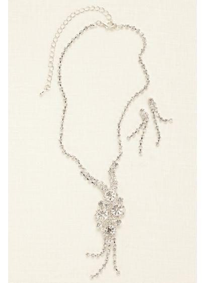 Cluster Y Necklace Set - Wedding Accessories