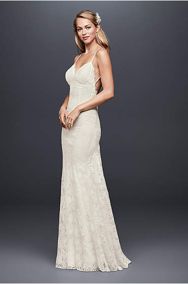 Galina bridal collection david 39 s bridal for Most sexy wedding dresses