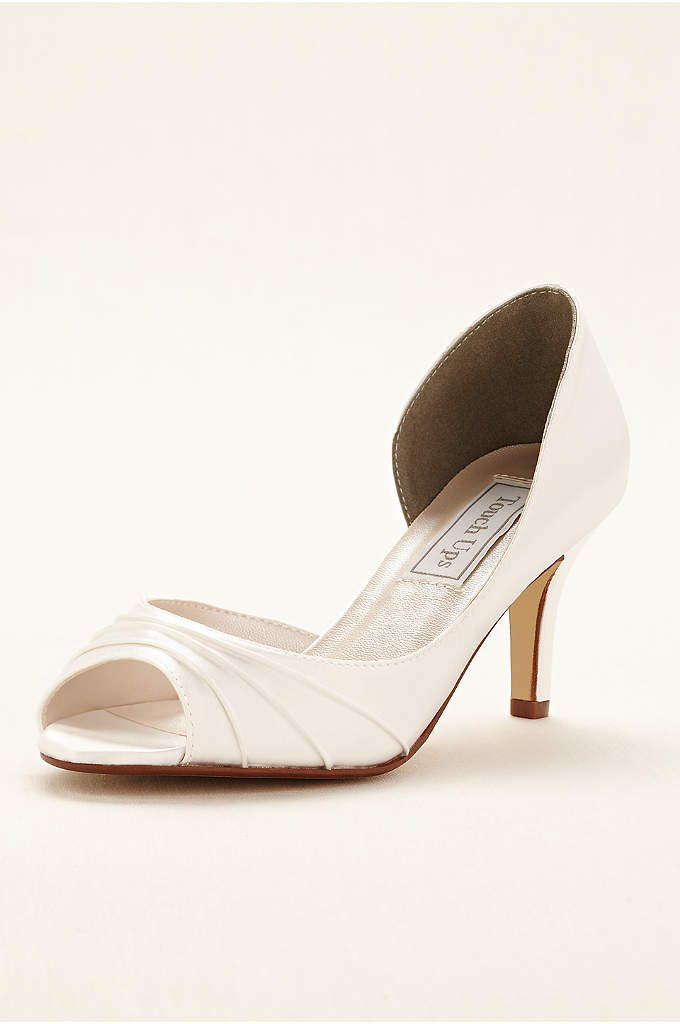 Nadia Dyeable Pump by Touch Ups - Timeless and sophisticated, these dyeable d'orsay peep toe