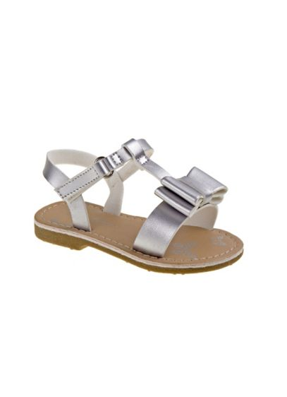 Laura Ashley Grey (Toddlers Bow Sandals)