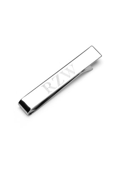 Personalized Stainless Steel Engravable Tie Bar - Wedding Gifts & Decorations
