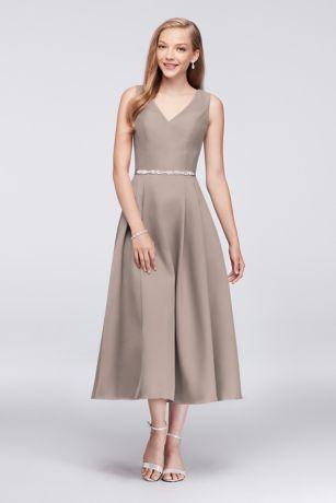 Retro Tea Length Dresses