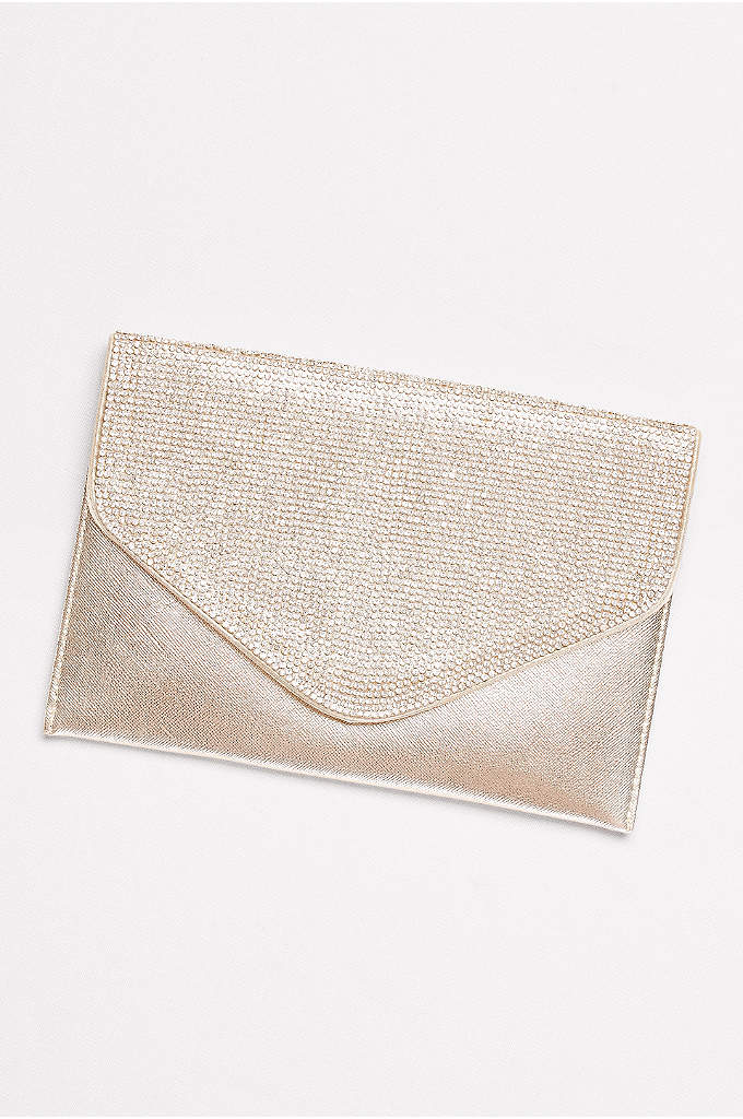 Crystal Flap Clutch Envelope - A classic carryall for every event, this soft