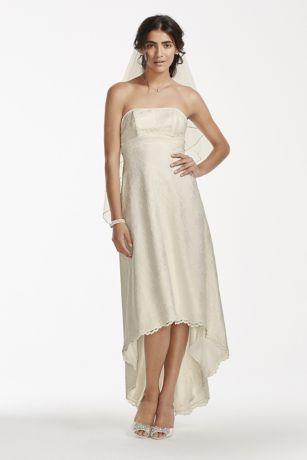 Lace Wedding Dress with Sash