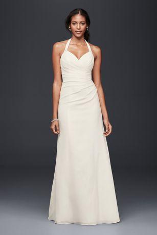 Halter Ivory Dress