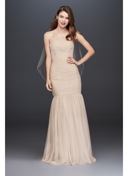 Long Mermaid/ Trumpet Modern Chic Wedding Dress - Galina