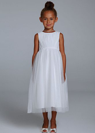 Tank Floor Length Ball Gown with All Over Sparkle