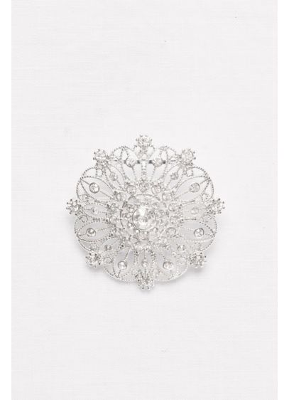 Round Filigree Sash Slider - Wedding Accessories