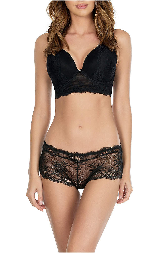 Parfait Sandrine Hipster - These moderate-coverage hipsters are crafted of ultra-romantic sheer