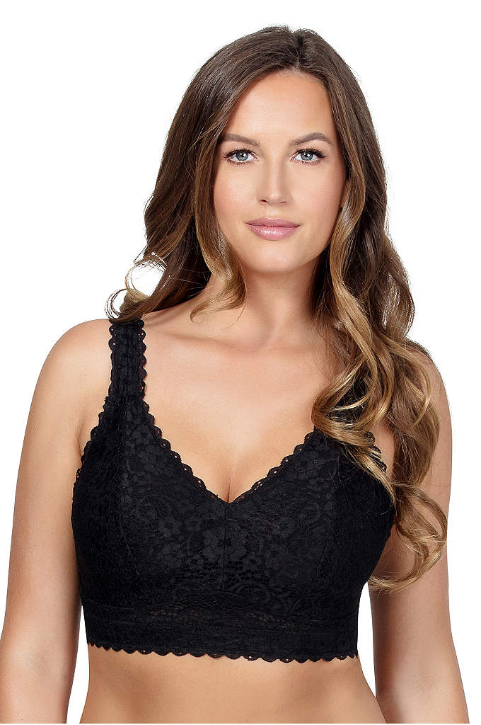Parfait Adriana Wire-Free Lace Bra - Stay supported while relaxing or even sleeping with