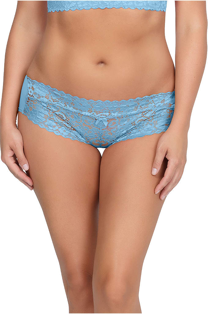 Parfait Adriana Hipster - A pretty stretch lace microfiber pair with a