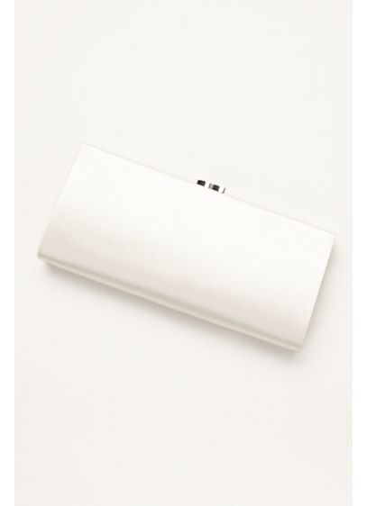 Elegant Satin Bridal Clutch by Menbur - Wedding Accessories