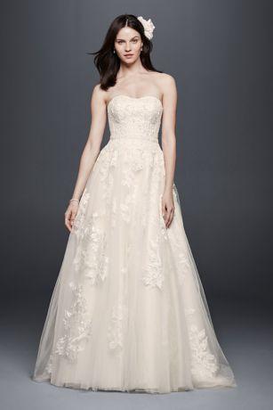Long Ballgown Romantic Wedding Dress   Priscilla Of Boston