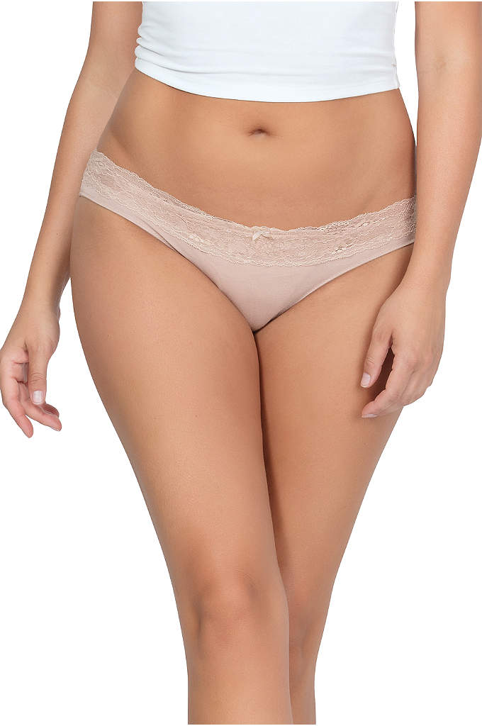 Parfait So Essential Bikini - Scalloped lace trim and comfy modal combine to