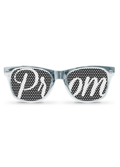 DB Exclusive Silver Metallic Prom Sunglasses - Wedding Gifts & Decorations