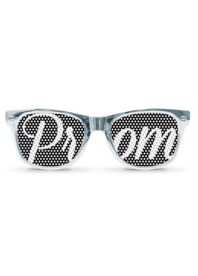 DB Exclusive Silver Metallic Prom Sunglasses PROMGLASSES