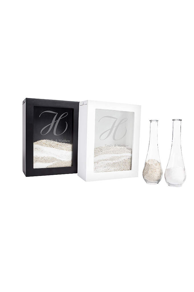 Unity Sand Ceremony Shadow Box Set - A beautiful alternative to the traditional unity candle