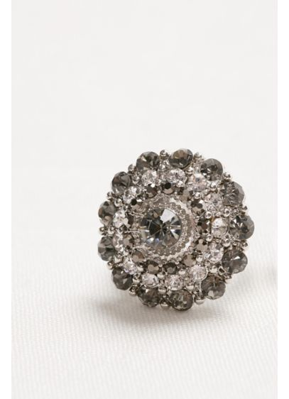 Shades of Grey Crystal Ring - Wedding Accessories