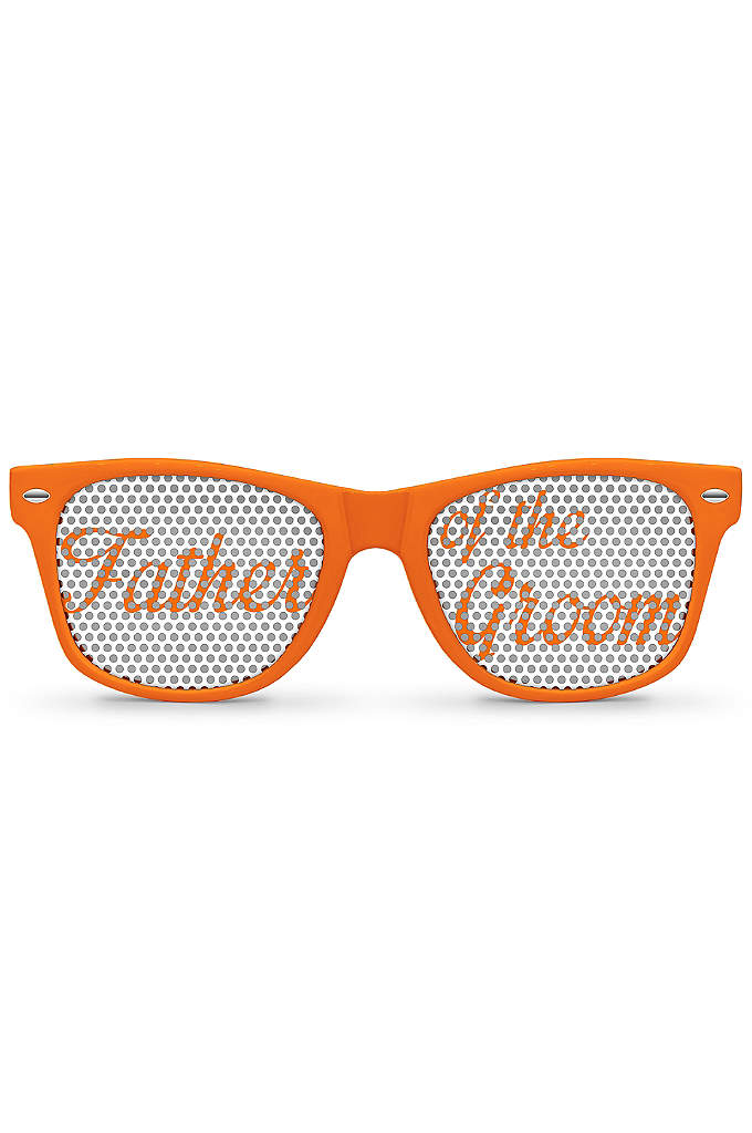 Personalized Father of the Groom Sunglasses - Personalize these Father of the Groom sunglasses to